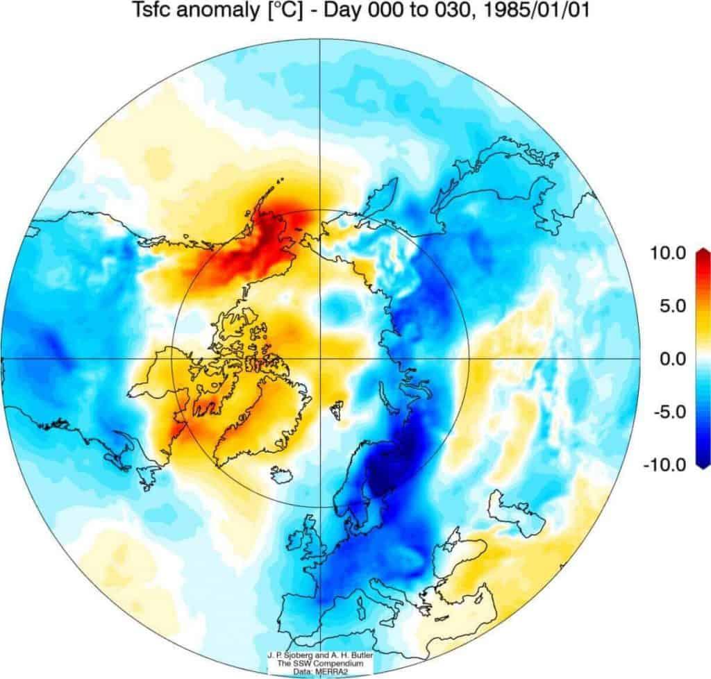 Wir polarny wpłynie na pogodę