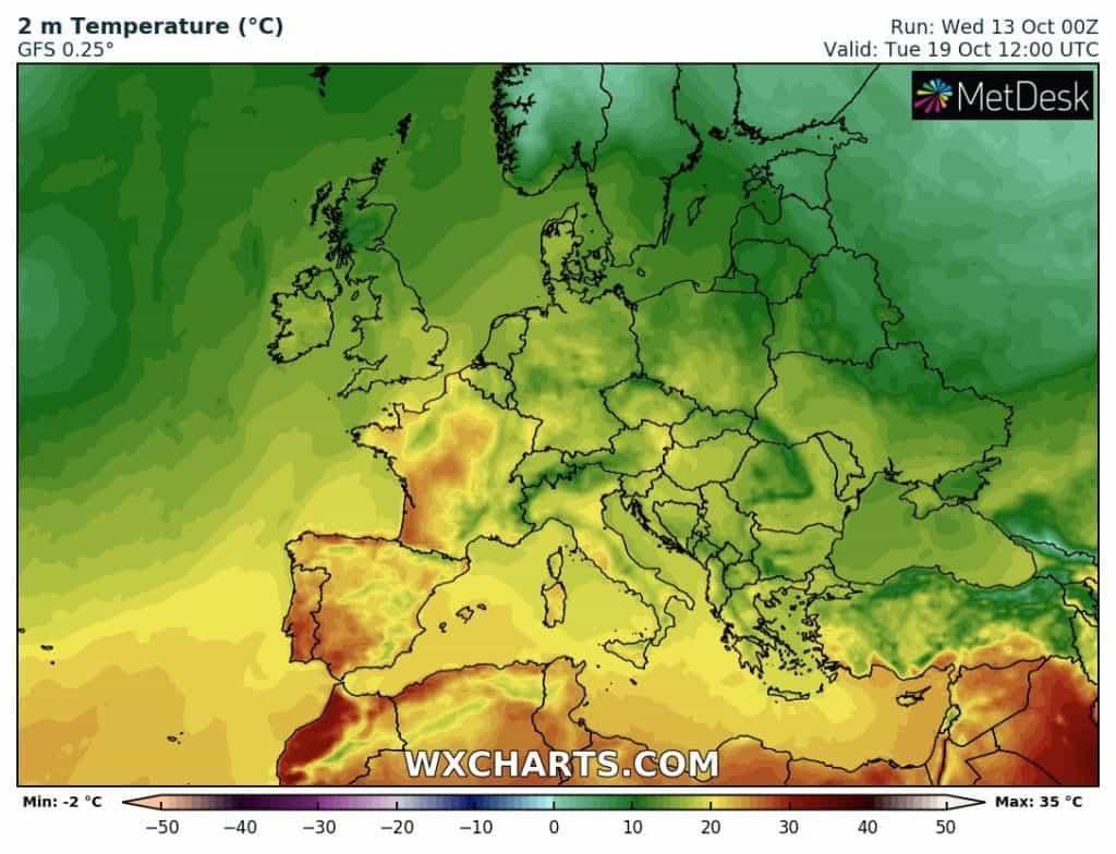 Upał na południowym wschodzie. Coraz cieplej w Europie